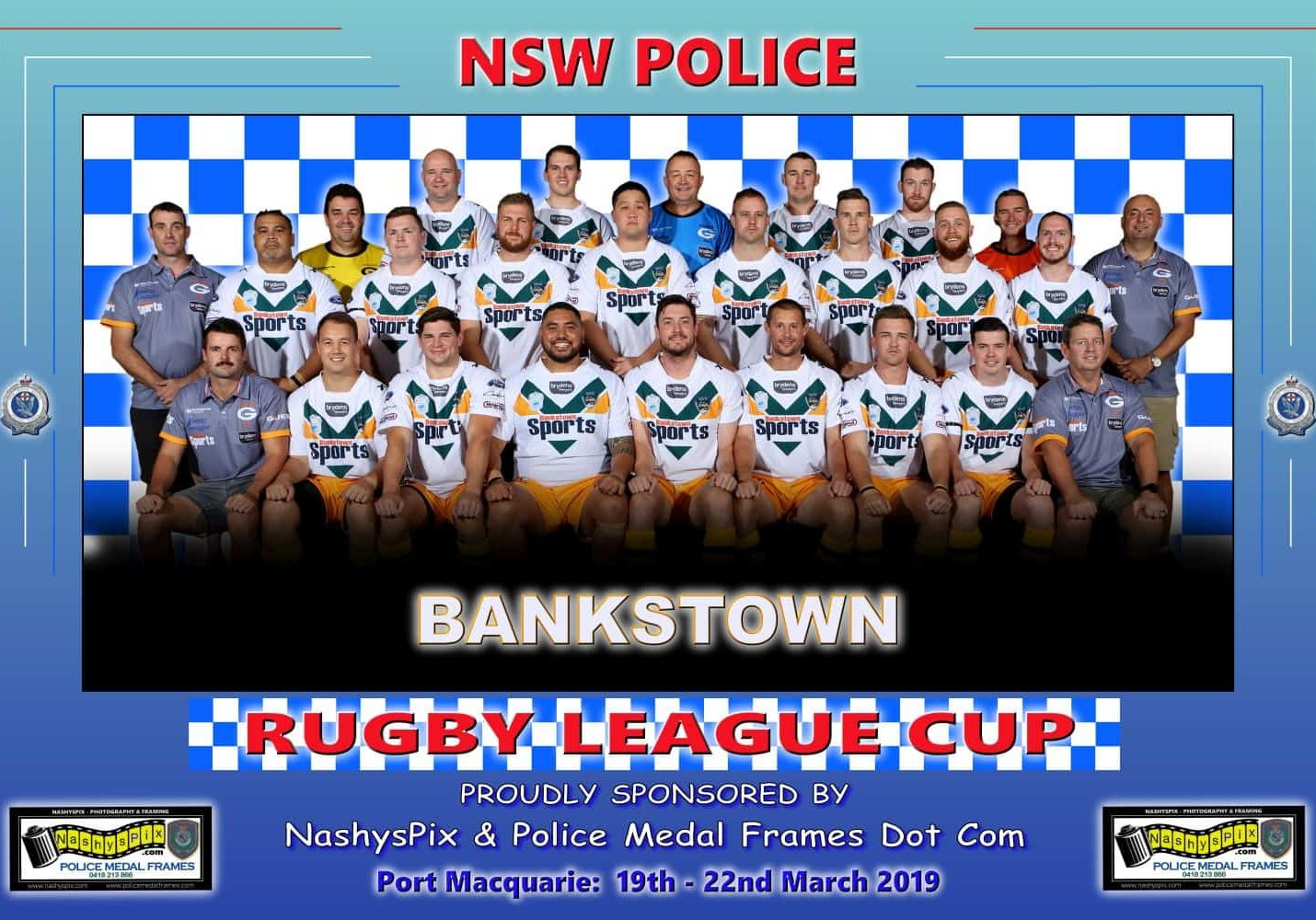TEAM PHOTO BANKSTOWN 19-3-2019