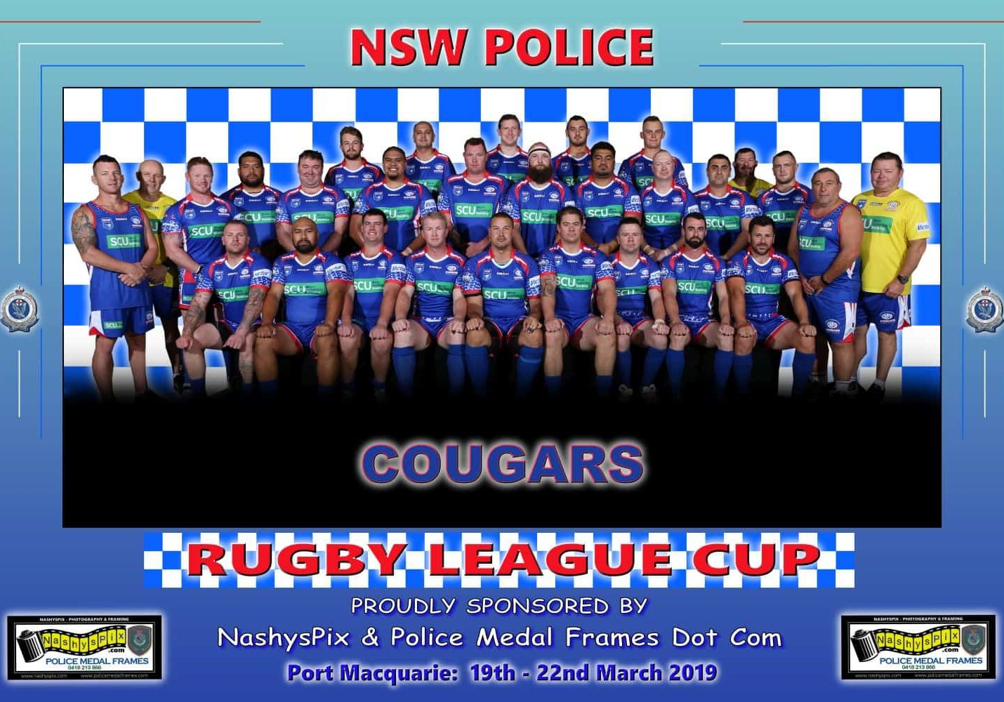 TEAM PHOTO COUGARS 19-3-2019