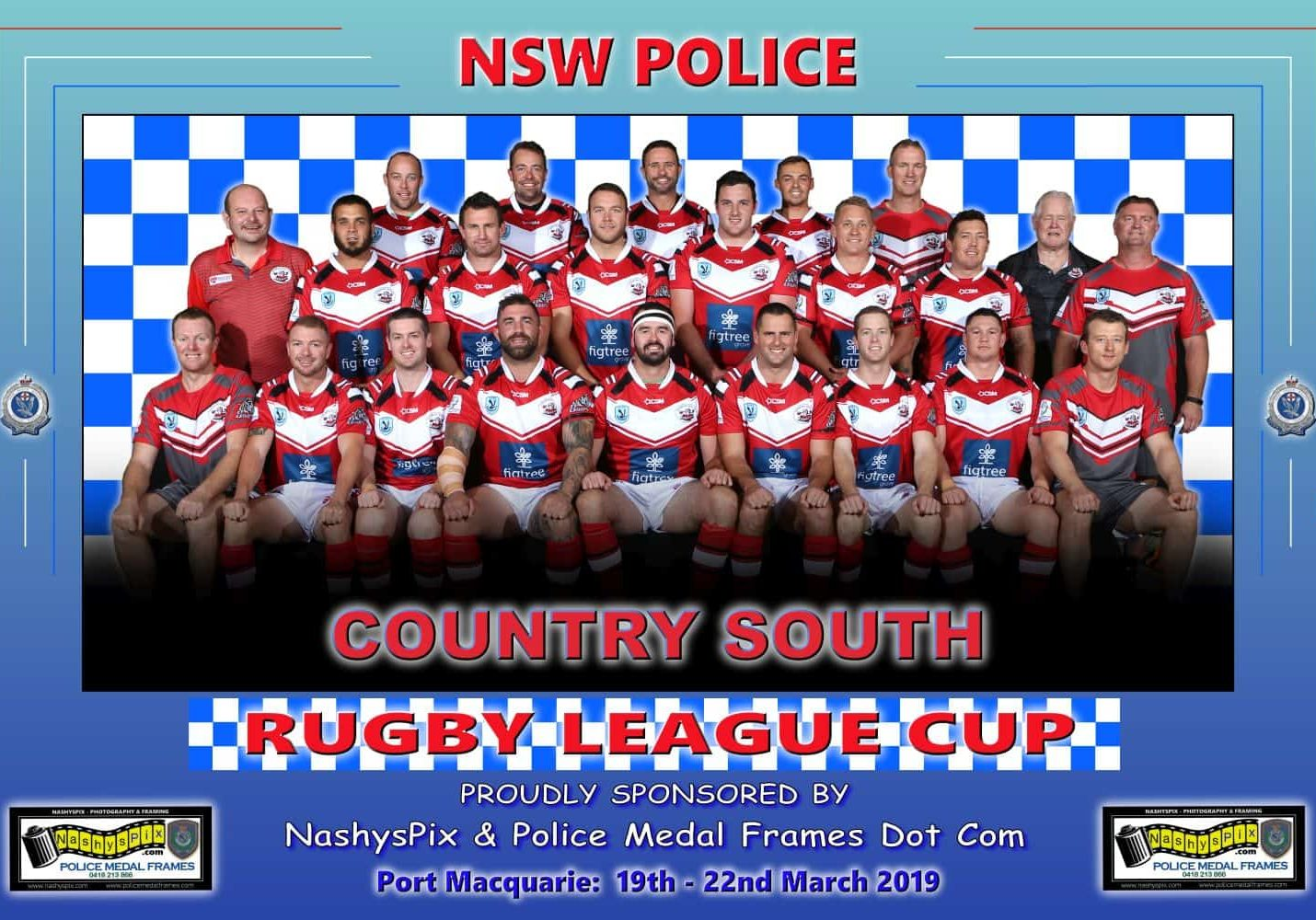 TEAM PHOTO COUNTRY SOUTH 19-3-2019