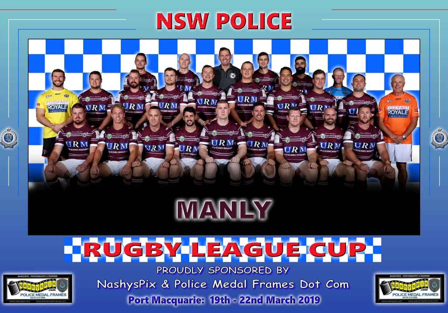 TEAM PHOTO MANLY 19-3-2019